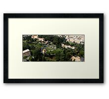 Saint Peters Gardens Framed Print
