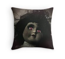 Who's the prettiest girl? Throw Pillow