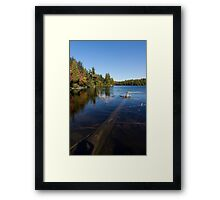 Of Fall and Fallen Giants - Take Two Framed Print