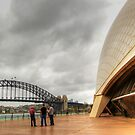 Sydney Harbour Bridge & Opera House.  by Eve Parry