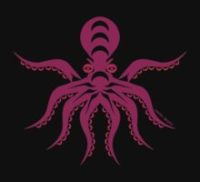 Coast Salish Octopus by Mark Gauti