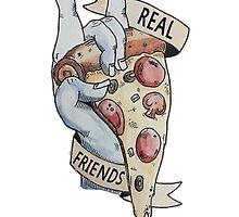 Real Friends Pizza by poppunkk1