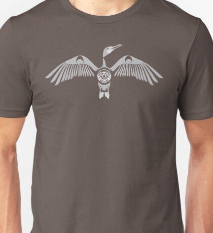 Coast Salish Cormorant Unisex T-Shirt
