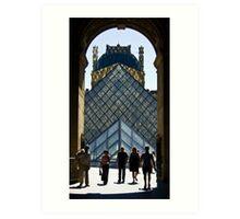 Musée du Louvre Art Print