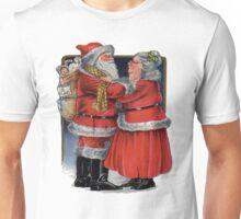 Vintage Mr and Mrs Claus Unisex T-Shirt