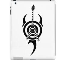 zakk wylde's gibson flying v bullseye tribal black iPad Case/Skin