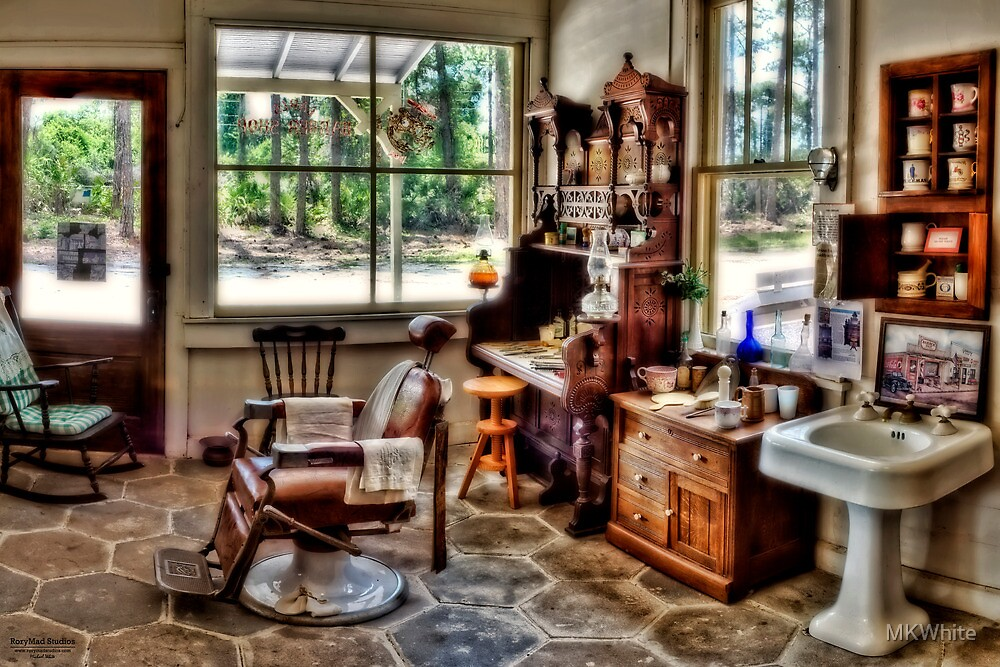Barber Shop Panoramic HDR by MKWhite