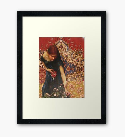 To Find Solace Framed Print