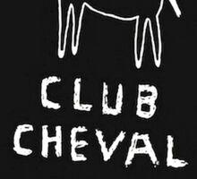 Club Cheval Tee Sticker
