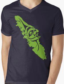 My Island Mens V-Neck T-Shirt