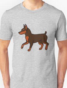 Chocolate Miniature Pinscher T-Shirt