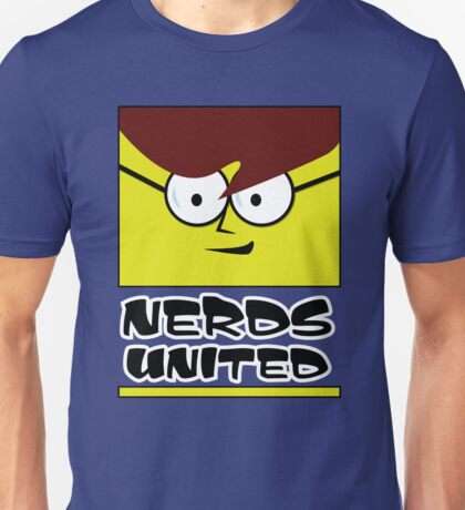 Nerds United - solidarity brothers! Unisex T-Shirt
