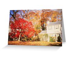 NY autumn Greeting Card