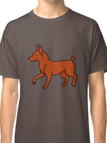 Red Miniature Pinscher Classic T-Shirt