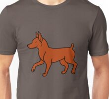 Red Miniature Pinscher Unisex T-Shirt
