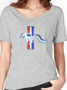 Rainbow Dash Tri-Bar (Original Color Left) Women's Relaxed Fit T-Shirt