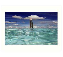 Sky Dive! Art Print