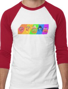 Dr Teeth and the Electric Mayhem Rainbow (The Muppets) Men's Baseball ¾ T-Shirt