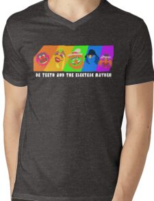 Dr Teeth and the Electric Mayhem Rainbow (The Muppets) Mens V-Neck T-Shirt