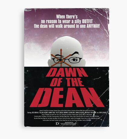 Dawn Of The Dean Canvas Print