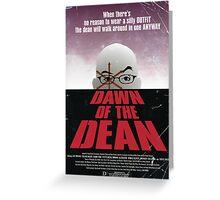 Dawn Of The Dean Greeting Card