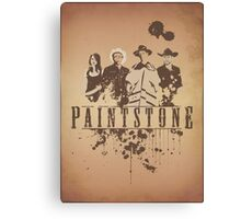 Paintstone Canvas Print