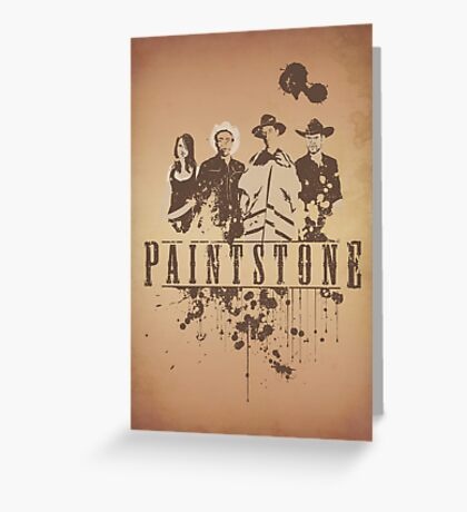 Paintstone Greeting Card