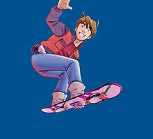 Mcfly on Hoverboard by senseidani