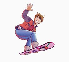 Mcfly on Hoverboard T-Shirt