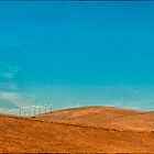 Turbines and hills by Irene2005