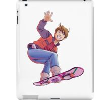Mcfly on Hoverboard iPad Case/Skin