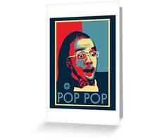 POP POP Greeting Card