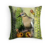 Nature's Nectar  Throw Pillow
