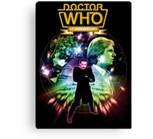 DR WHO 2 WHOS Canvas Print