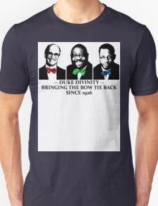 Div Bow Tie Brigade Unisex T-Shirt