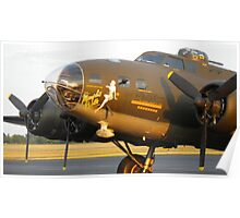 B-17 Memphis Belle in Smyrna, TN - 2 Poster