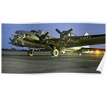 B-17 Memphis Belle in Smyrna, TN Poster