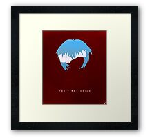 The First Child Framed Print
