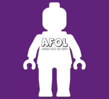 Minifig with AFOL Slogan by Customize My Minifig  by ChilleeW