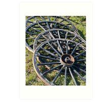 Buggy Wheels Art Print
