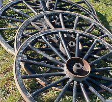 Buggy Wheels by Mary Fox