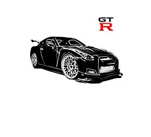 Skyline GTR  Photographic Print