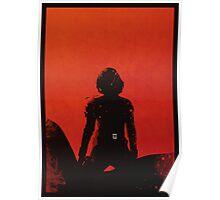 Black Widow [minimalist poster] Poster