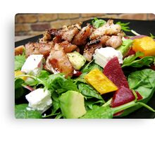 Honey Soy Chicken Salad Canvas Print