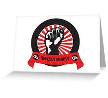 OG Revolutionary  Greeting Card