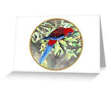 Rosella, Birds of Hepburn, 2011 Greeting Card