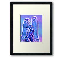 GOTHAM DANCER/SIREN(?) Framed Print