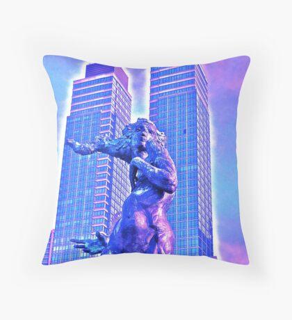GOTHAM DANCER/SIREN(?) Throw Pillow
