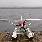 Alaskan transport, Cessa 180 floatplane, Ketchikan, Alaska. by johnrf