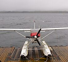 Alaskan transport, Cessa 180 floatplane, Ketchikan, Alaska. by johnrf